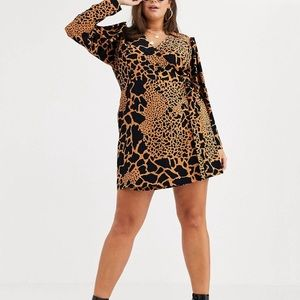 ASOS Curve Printed Dress